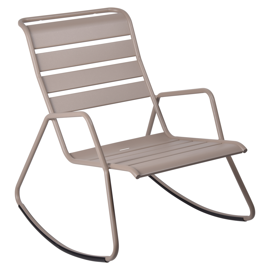 rocking chair metal, rocking chair fermob, rocking chair jardin, rocking chair beige