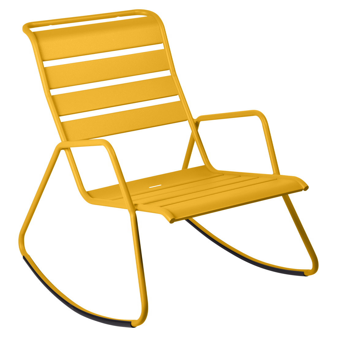 rocking chair metal, rocking chair fermob, rocking chair jardin, rocking chair jaune