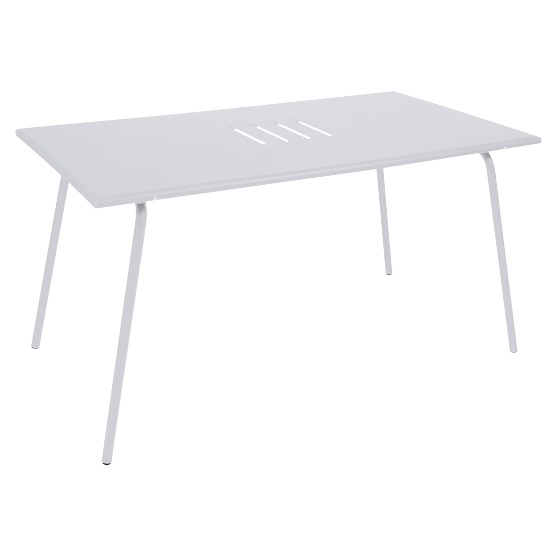 table de jardin, table metal, table rectangulaire, table 6 personnes, table banche