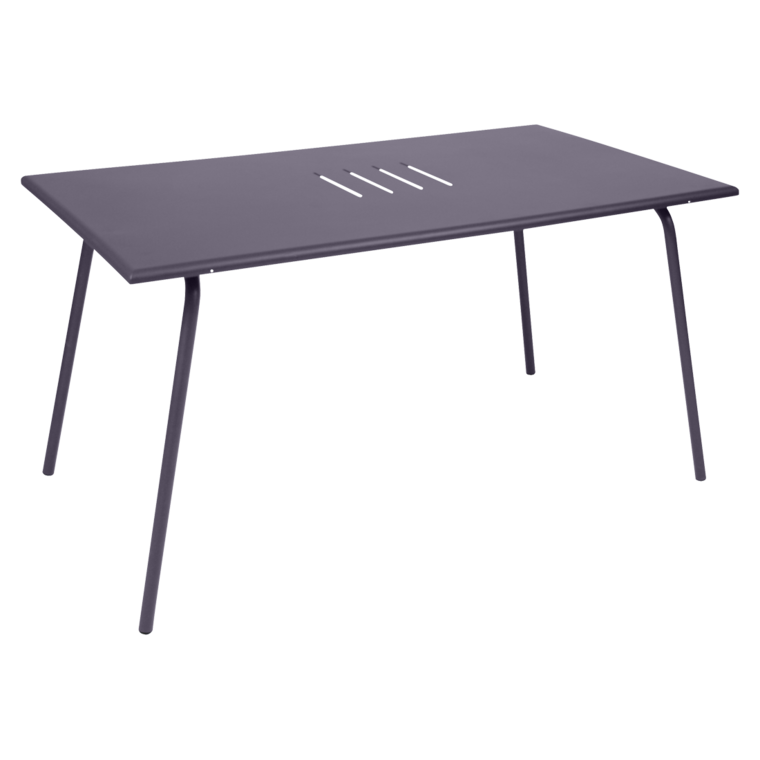 Table 146x80 cm monceau table de jardin table jardin 6 for Table 6 personnes dimensions