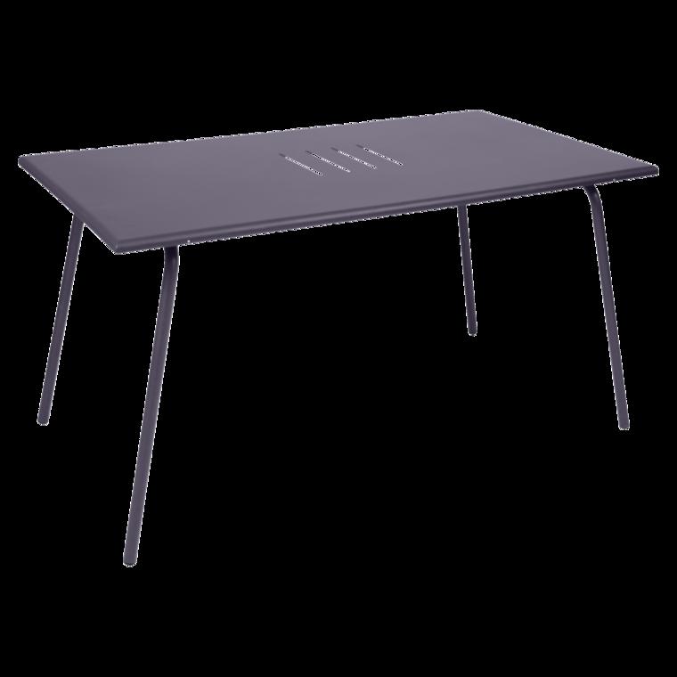 table 146x80 cm monceau table de jardin table jardin 6 personnes. Black Bedroom Furniture Sets. Home Design Ideas