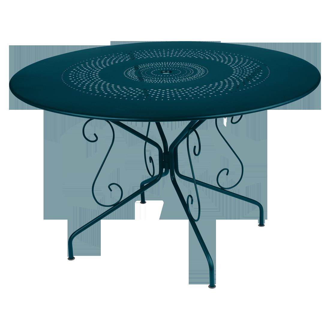 Table Ø 117 cm montmartre bleu acapulco