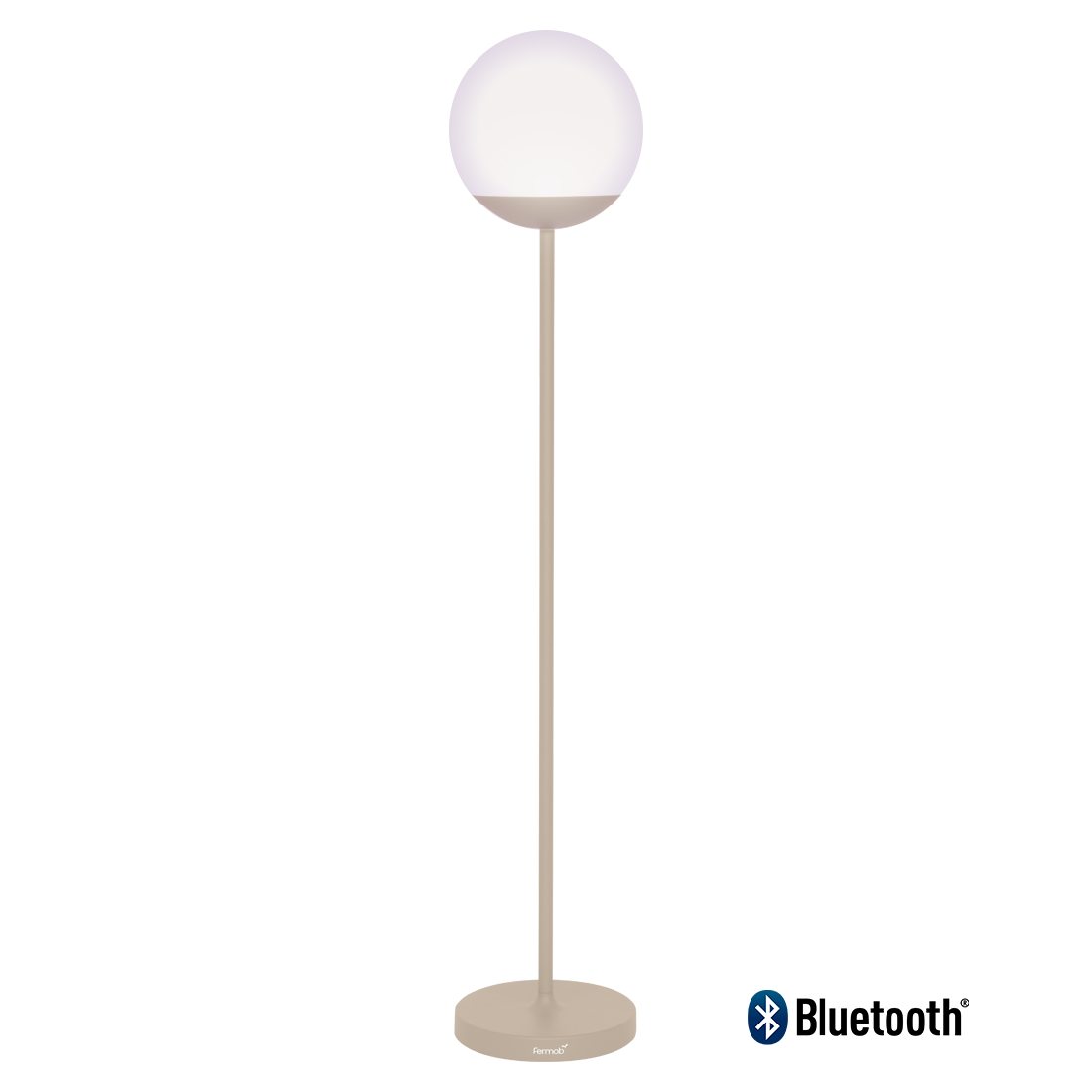 lampe fermob, lampadaire, lampe outdoor, lampe d exterieur, lampe beige