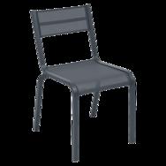 chaise de jardin, chaise fermob, chaise en toile, chaise fermob noire