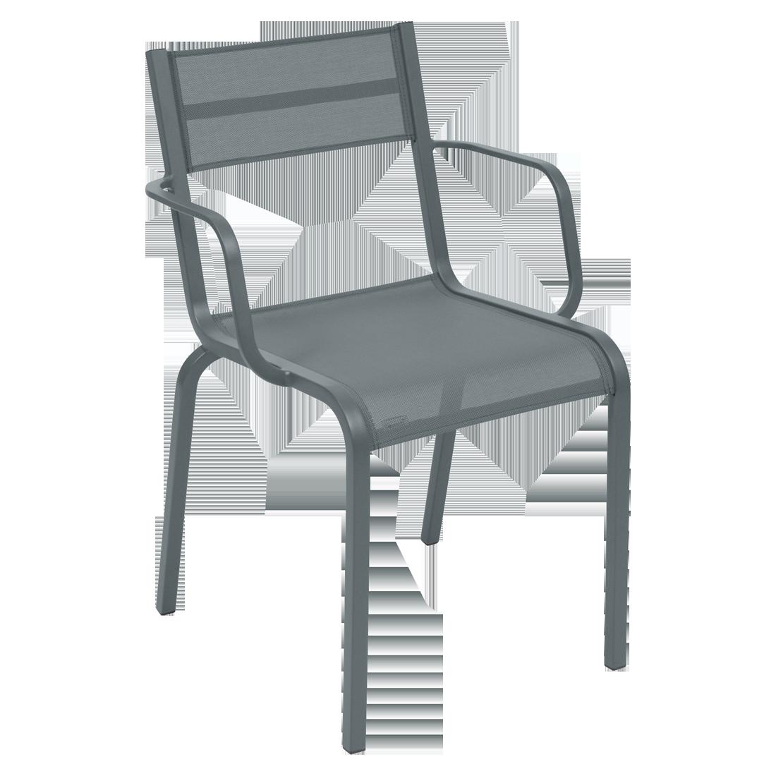 chaise fermob, chaise en toile, chaise de jardin, chaise de jardin en toile, chaise terrasse en toile, chaise fermob en toile, fauteuil oleron, chaise en toile grise