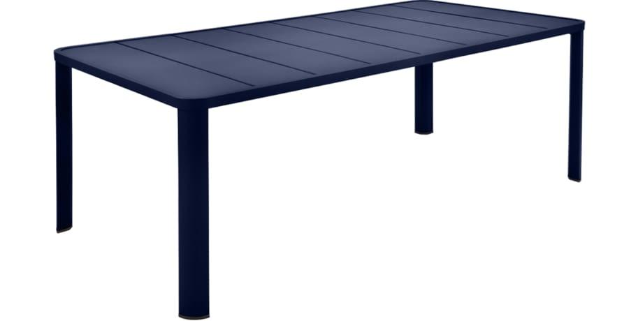 table de jardin, table 8 personnes, table 10 personnes, table metal, table aluminium