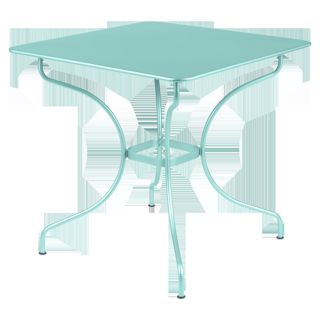 table carr e op ra table de jardin metal. Black Bedroom Furniture Sets. Home Design Ideas