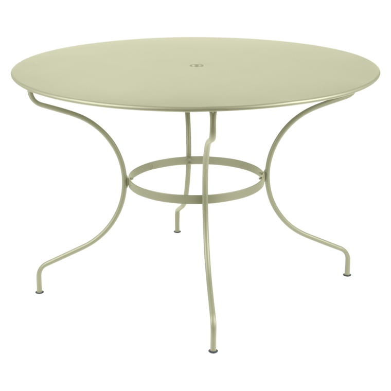Table Ronde 117 Cm Table De Jardin Metal Table Jardin 6 Personnes