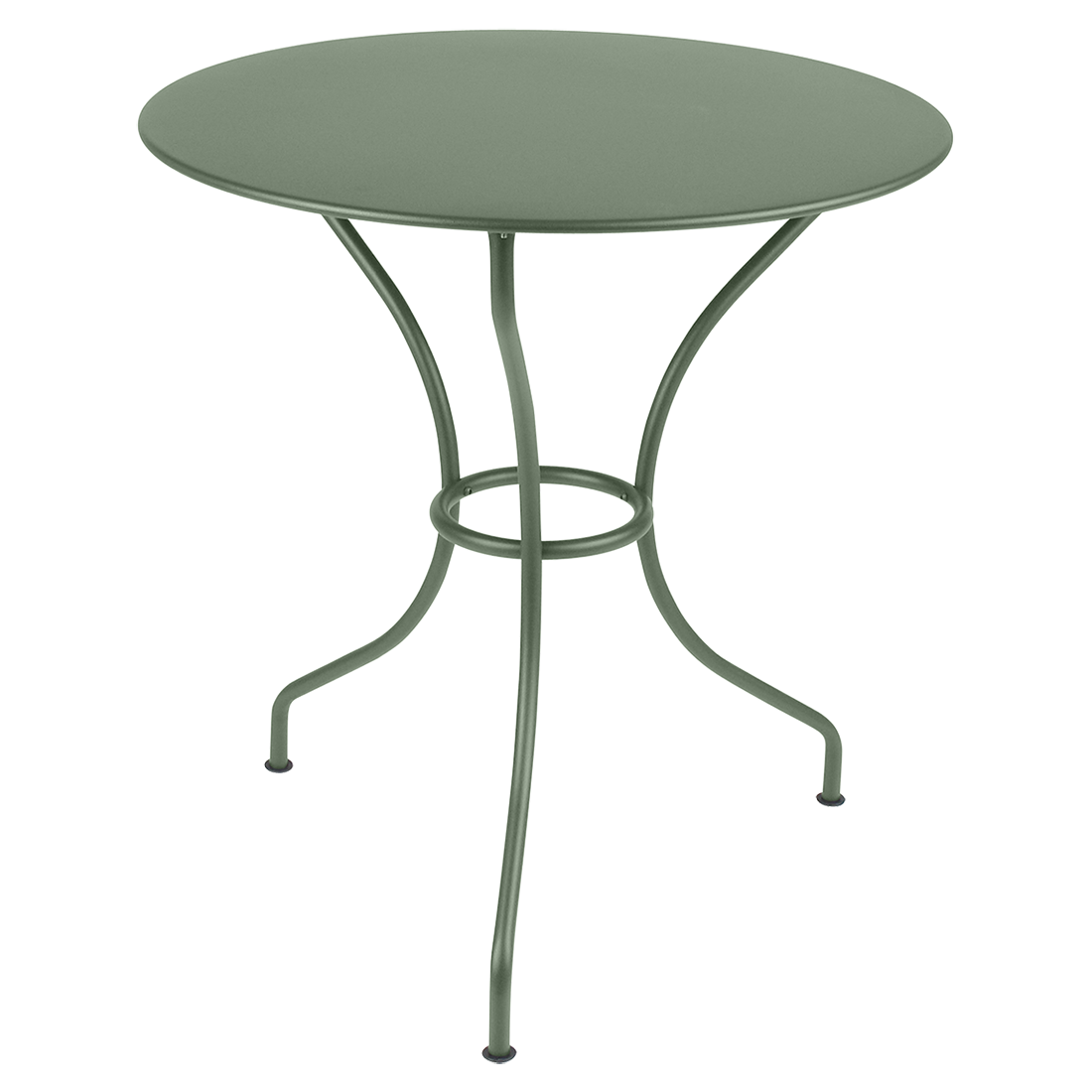 gueridon metal, table de jardin