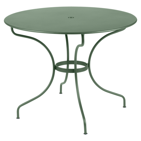 gueridon metal, table de jardin