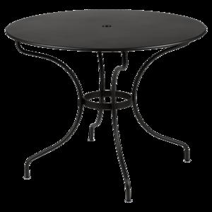 Fermob mobilier de jardin design fran ais m tal en couleurs for Table exterieur fermob