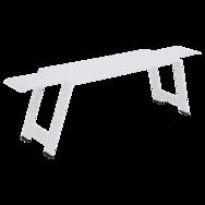 banc de jardin, banc metal, banc terrasse, banc metal blanc