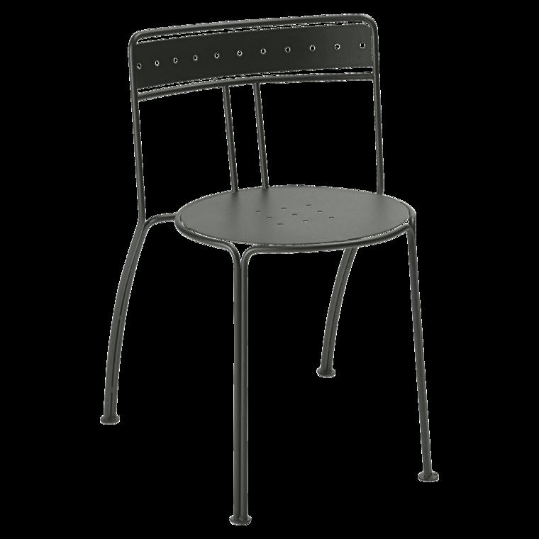 Stuhl Palais Royal, Gartenstühle aus Metall, design Gartenmöbel