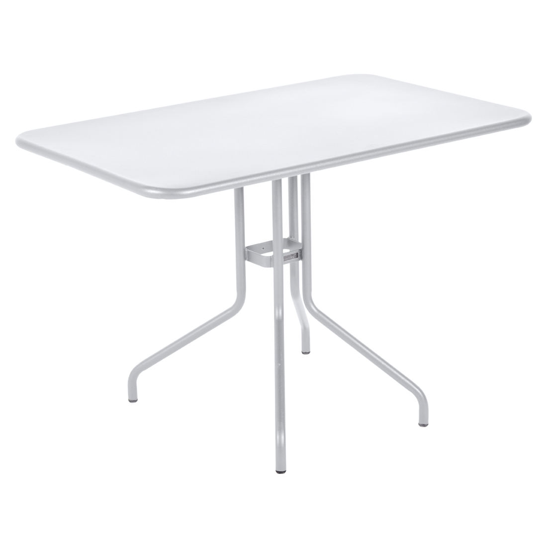 table restaurant, table terrasse, table metal, table pliante metal, mobilier restaurant, table pliante blanche