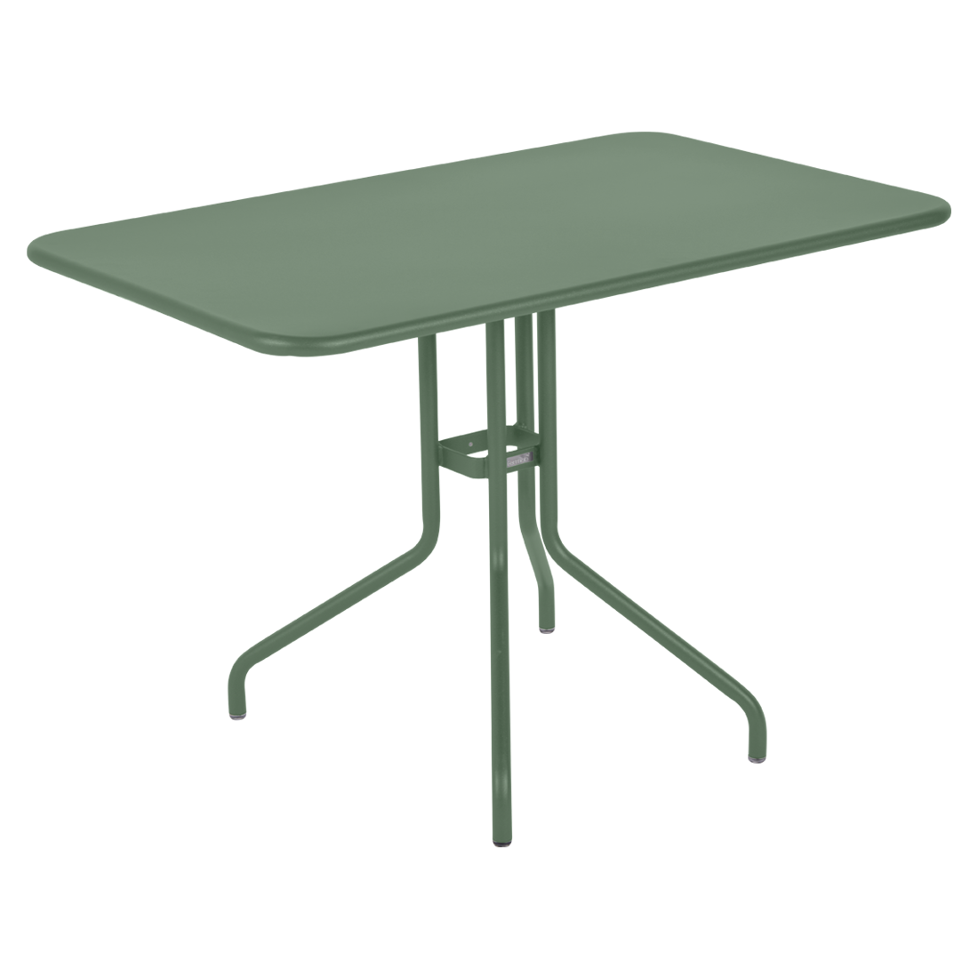 table restaurant, table terrasse, table metal, table pliante metal, mobilier restaurant, table pliante verte