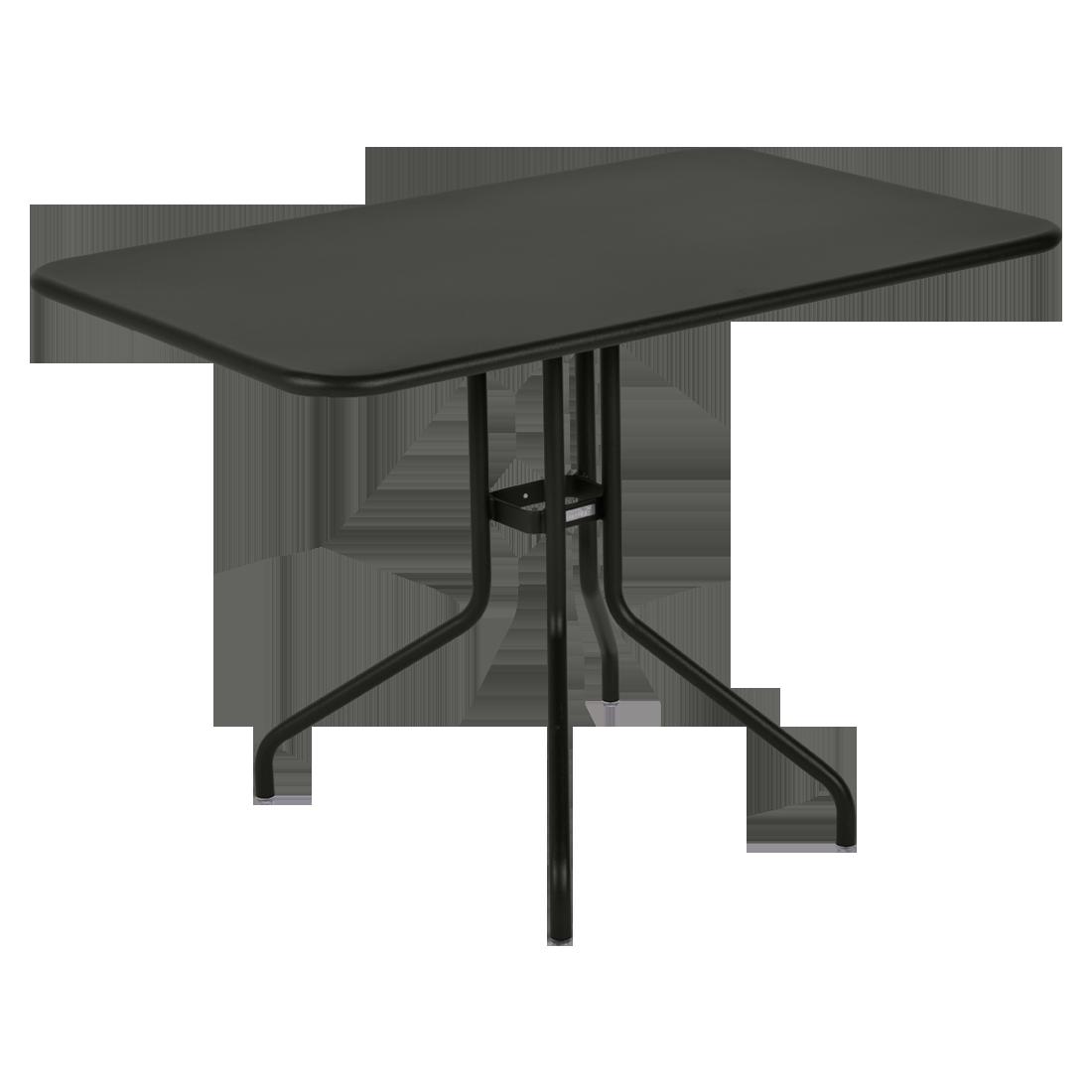 table restaurant, table terrasse, table metal, table pliante metal, mobilier restaurant, table pliante noir