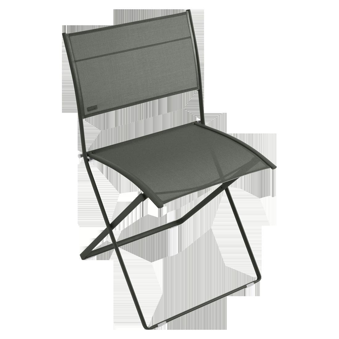 chaise en toile verte, chaise fermob en toile, chaise de jardin verte, chaise fermob verte