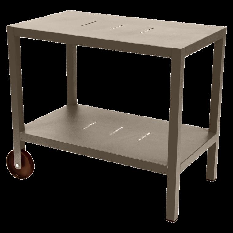 quiberon dresser metal trolley bar side table