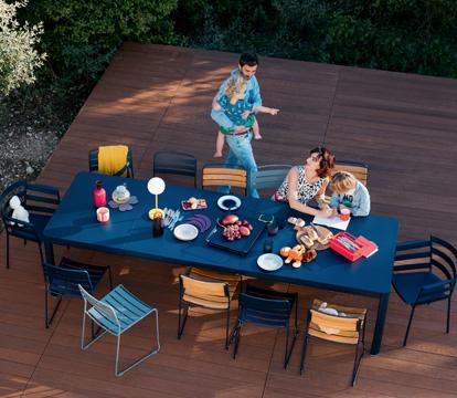 table a allonge fermob, table a rallonge, table a allonge, table metal a allonge, table de jardin a rallonge