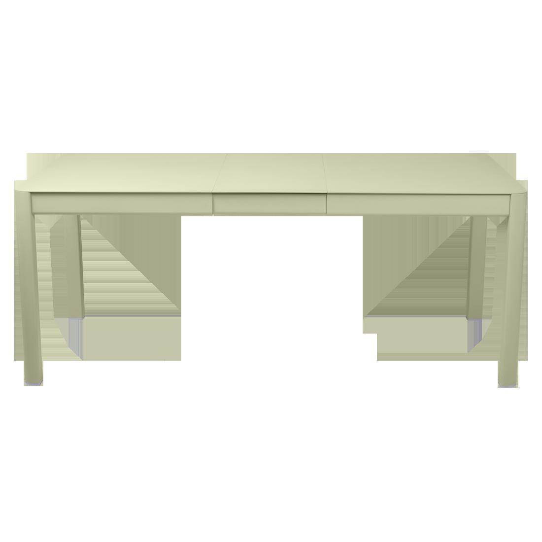 Ribambelle table, metal garden table for 8, garden table ...