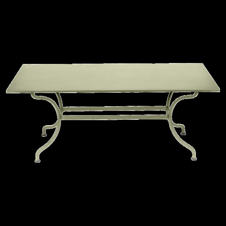 180x100 cm romane table outdoor furniture - Table hauteur 100 cm ...