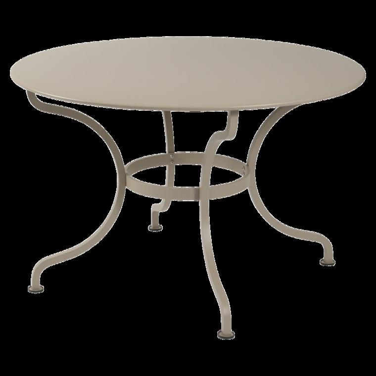Tisch Romane 117 Cm Runder Gartentisch Aus Metall Gartenmobel
