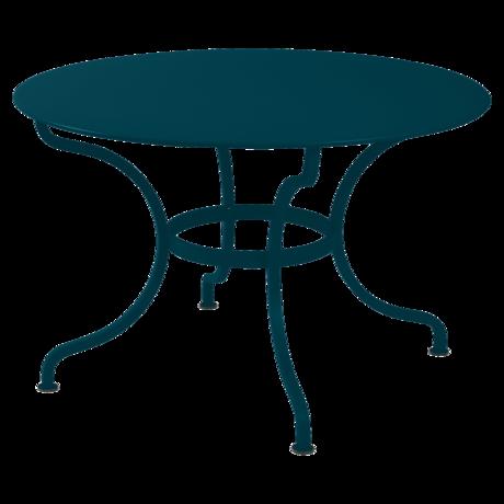 Table Ø 117 cm romane bleu acapulco