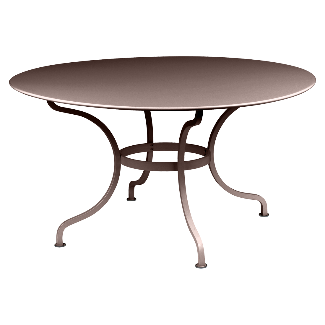 table ronde 137 cm romane table de jardin mobilier de jardin. Black Bedroom Furniture Sets. Home Design Ideas