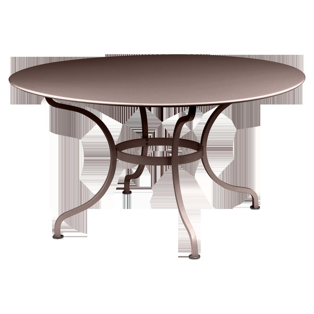 table ronde 137 cm romane table de jardin mobilier de jardin. Black Bedroom Furniture Sets. Home Design Ideas