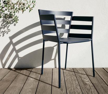 fauteuil design fermob, fauteuil de jardin, chaise metal, fauteuil metal, chaise design