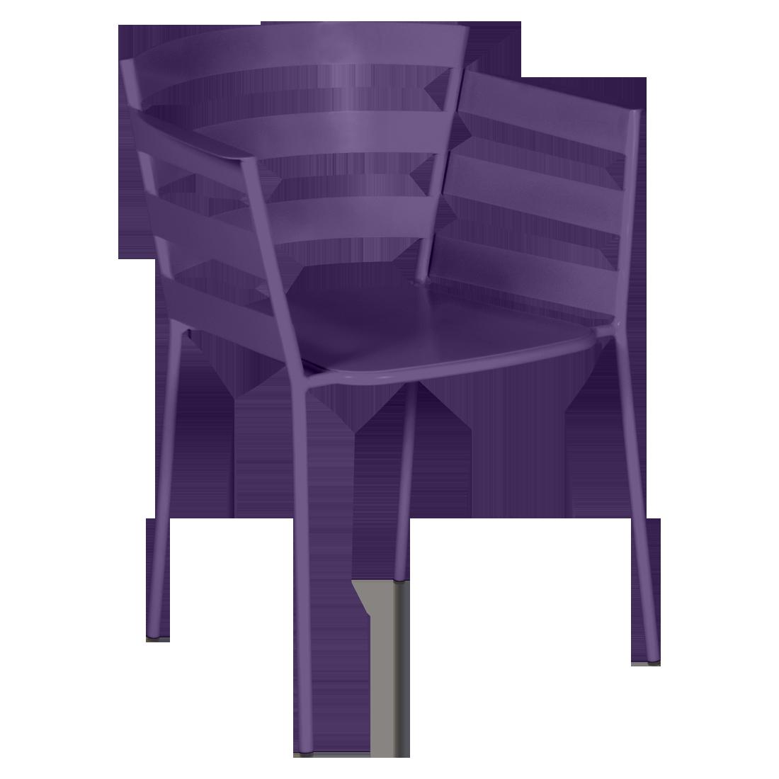 chaise metal design, chaise design, fauteuil de jardin, chaise metal, chaise fermob, fauteuil violet