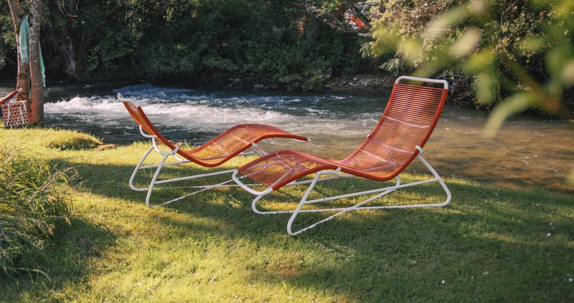 Saint tropez superlounger for outdoor living space - La chaise longue saint lazare ...