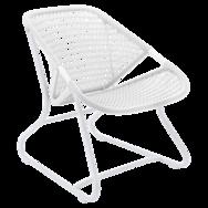 fauteuil de jardin, fauteuil blanc, fauteuil fermob