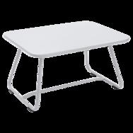 table basse metal, table basse de jardin, table basse terrasse, table basse blanche