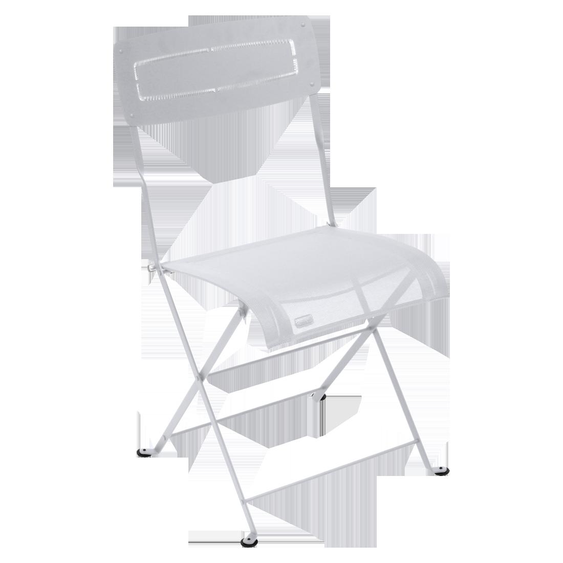 chaise pliante, chaise en toile, chaise pliante en toile, chaise pliante fermob, chaise pliante blanche