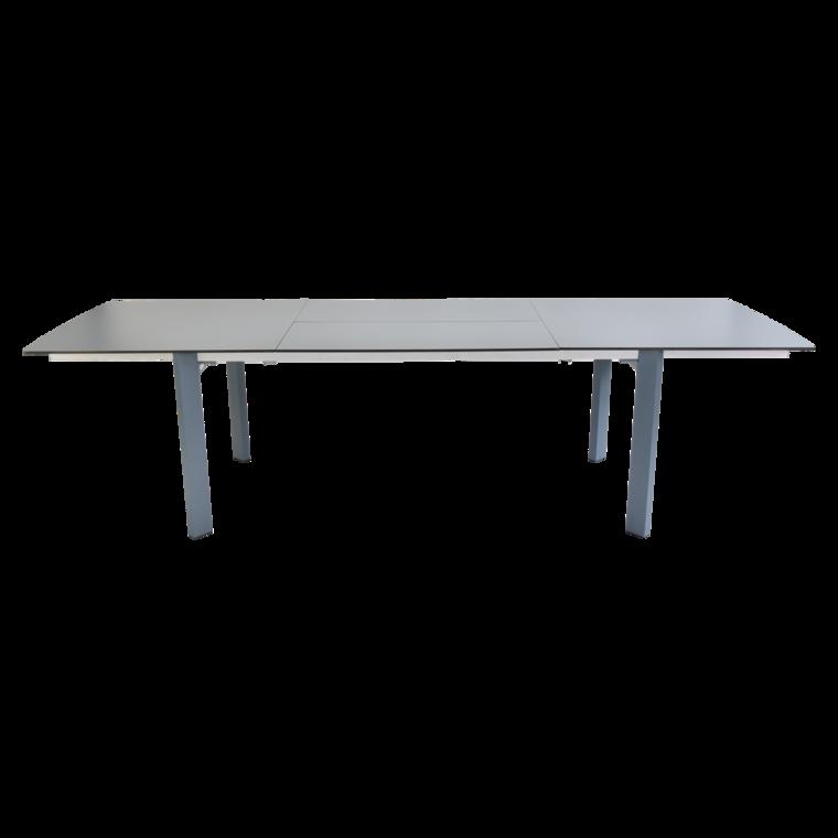 table slim table de jardin en m tal allonge mobilier. Black Bedroom Furniture Sets. Home Design Ideas
