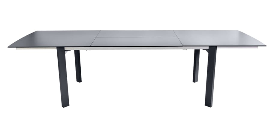 table de jardin noir - table metal