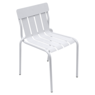 chaise metal, chaise design, chaise metal original, chaise design blanche
