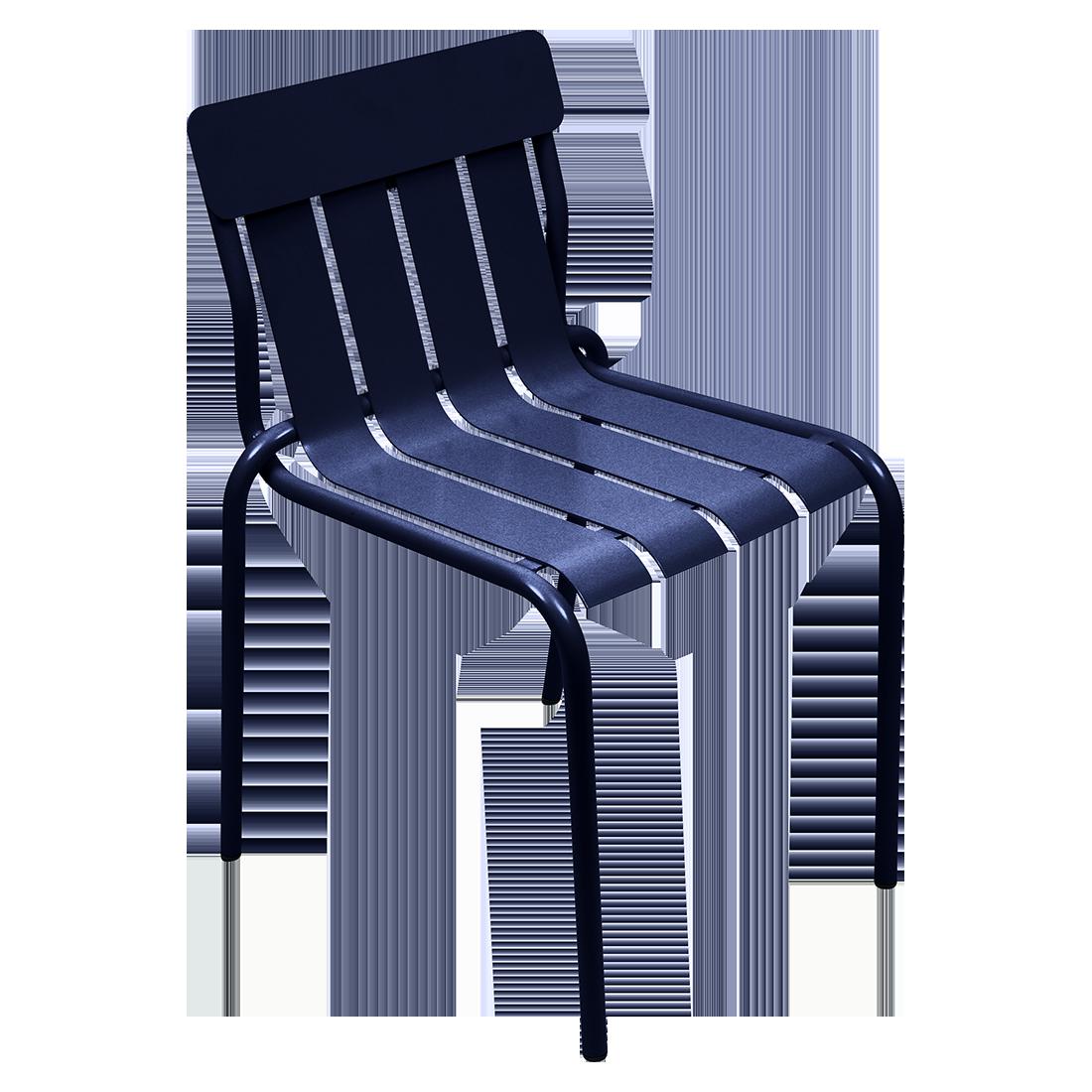 chaise metal, chaise design, chaise metal original, chaise design bleu