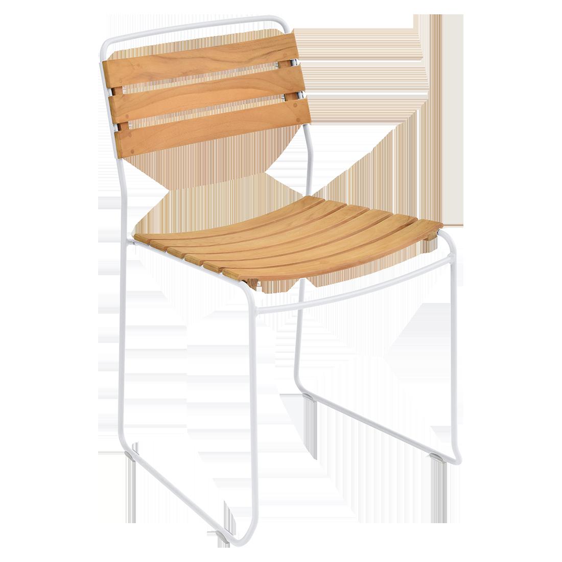 chaise surprising, chaise fermob, chaise bois et metal, chaise de jardin, chaise design, chaise bois et blanc, guggenbichler