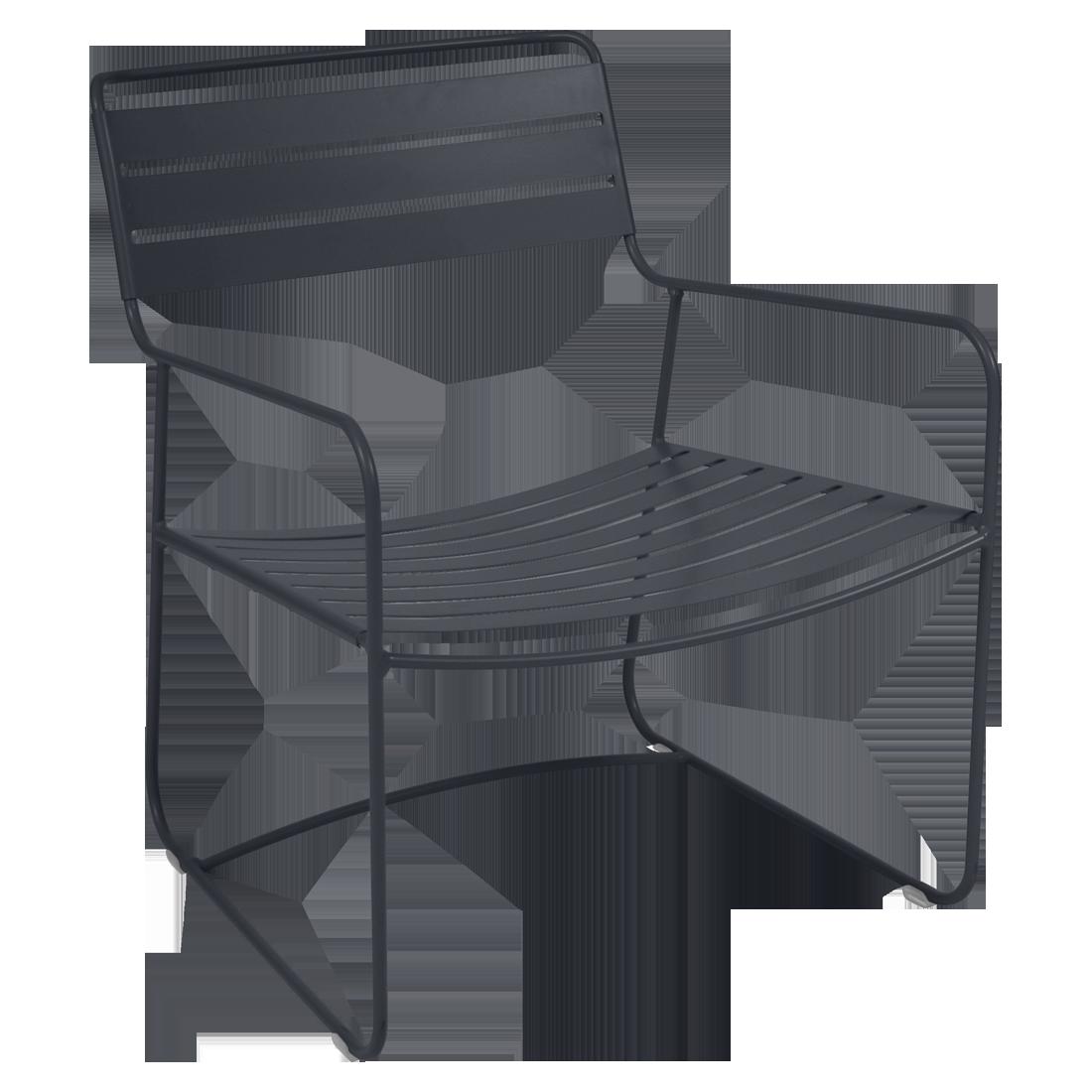 Fauteuil bas Surprising, fauteuil de jardin pour salon de jardin