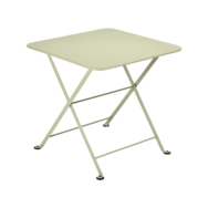 table basse metal, table enfant metal, table de jardin pour enfant, table basse vert