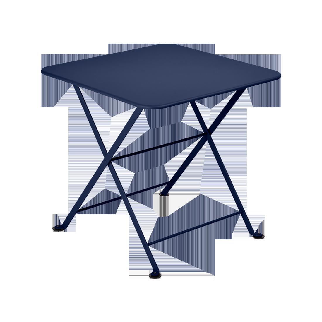 table basse metal, table enfant metal, table de jardin pour enfant, table basse bleu