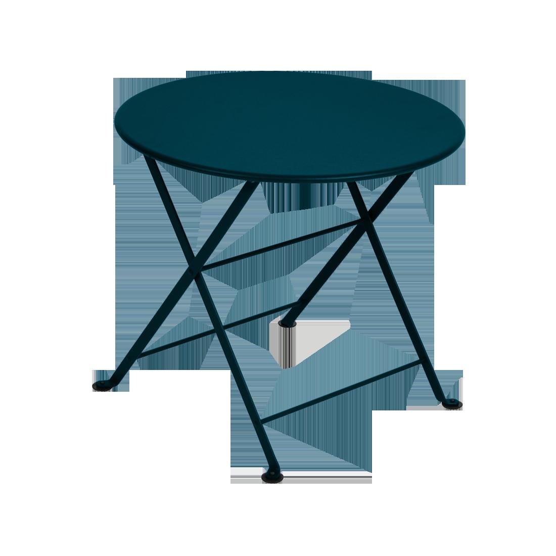 Table basse tom pouce bleu acapulco