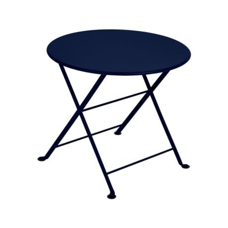 table basse metal, petite table basse, table metal enfant, table de jardin pour enfant, table enfant bleu