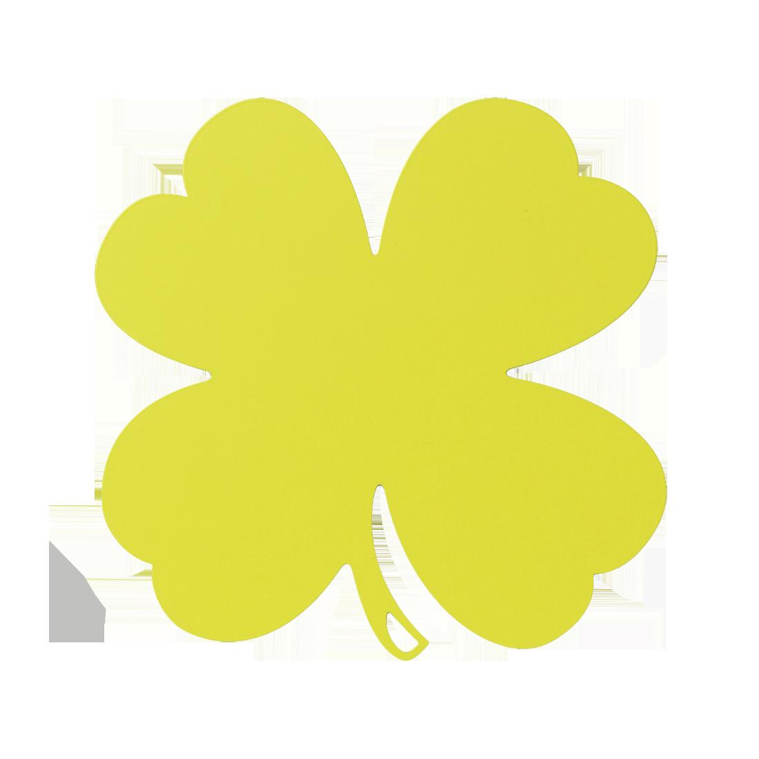 dessous de plat Trèfle vert