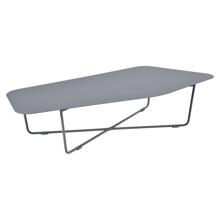 Ultrasofa low table, metal table for outdoor living space