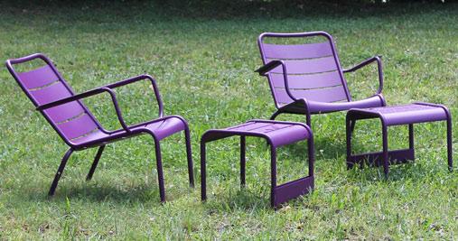 fauteuil de jardin metal Luxembourg