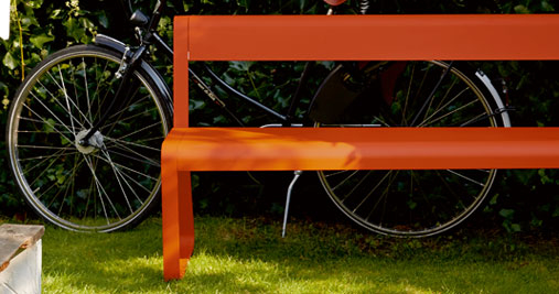 Banc design de jardin Bellevie