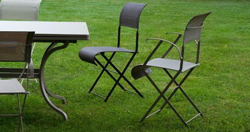 Chaise de jardin DUNE